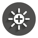 Icon grey circle: HighBright
