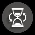 Icon grey circle: Longtime