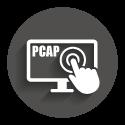 Icon grey circle: PCAP