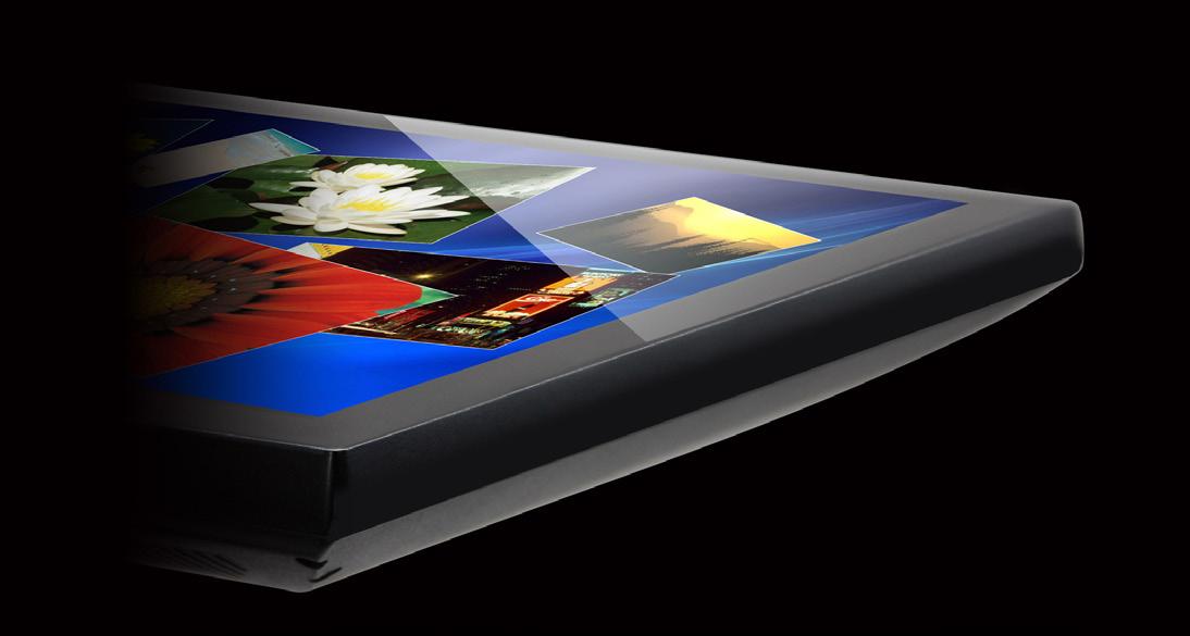 Illustration 13: PCAP - Flat Front Surface oder virtuelle Einfassung